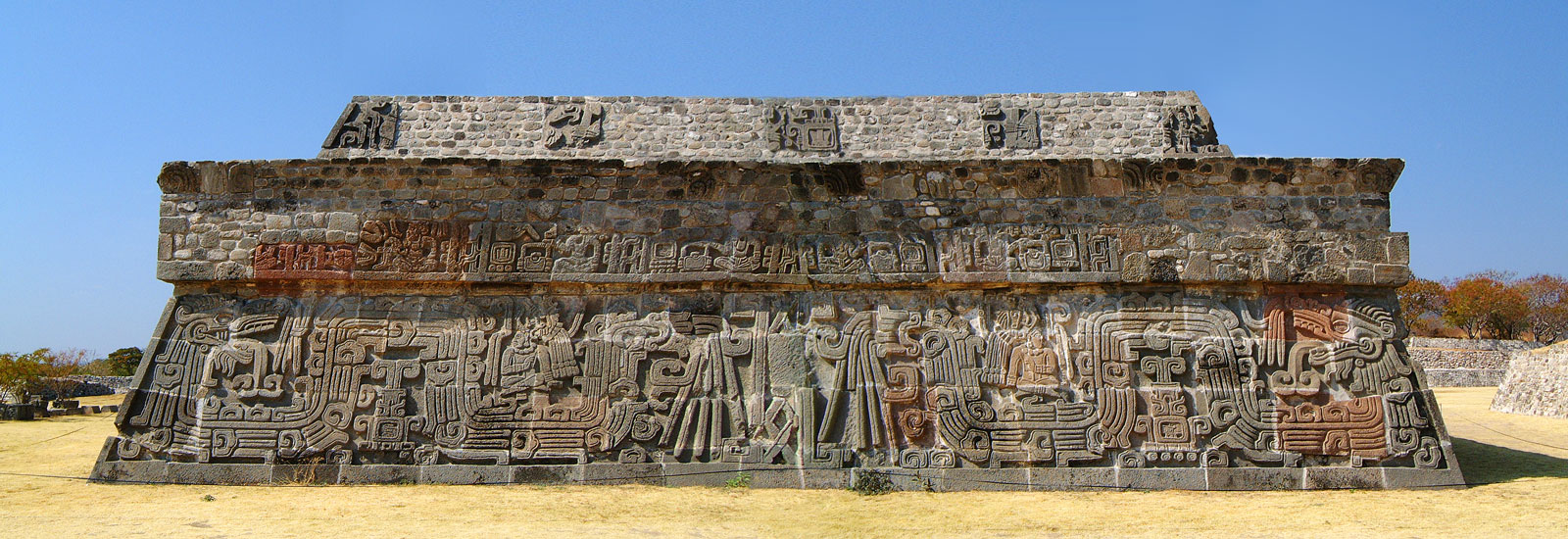 Pyramid of the Plumed Serpent at Xochicalco