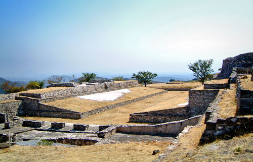 Eastern Ballcourt at Xochicalco