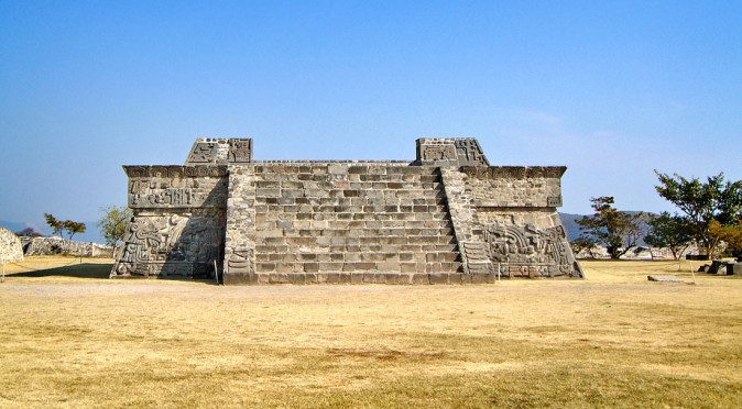 Pyramid of the Plumed Serpent at Xolchicalco