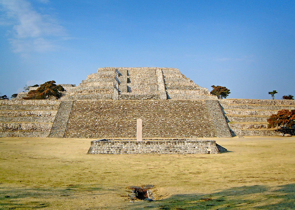 Great Pyramid at Xochicalco