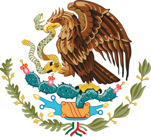 W0119CA: Mexican Coat of Arms