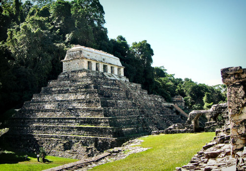 Temple of Inscriptions at Palenque