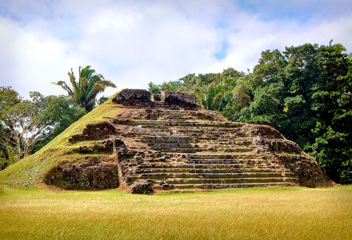 Structure A3 at Altun Ha