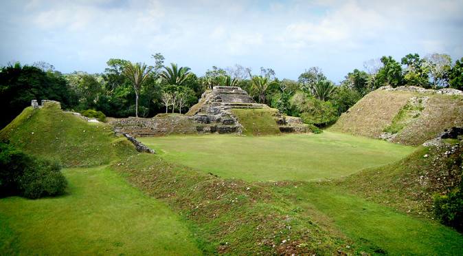 Plaza A at Altun Ha