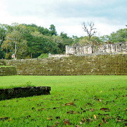 Structure 1B-5 at Quirigua