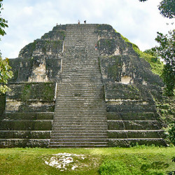 The Great Pyramid (Structure 5C-54) of Tikal