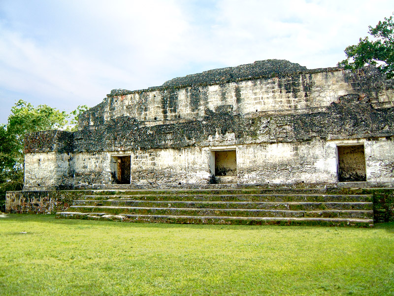 Maler's Palace (Structure 5D-65) at Tikal