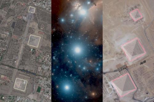 The alignment of Teotihuacan, Orion & Giza