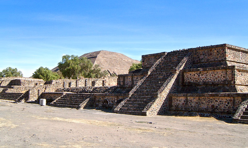 Talud-Tablero Temple at Teotihuacan