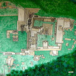 Site Map of Copan