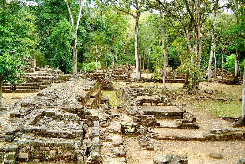 Copan's El Cementario Area known as Group 3