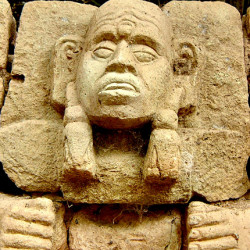 Figure on Structure 29 at Copan