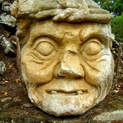 Pauahtun from the Temple of Inscriptions at Copan