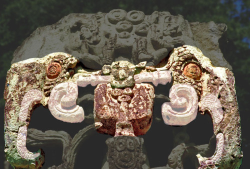 The Monster Mouth of Stela B at Copan
