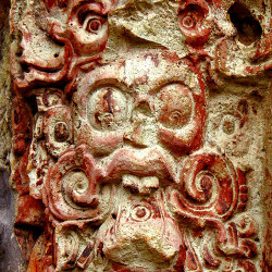 Decoration on Stela C at Copan