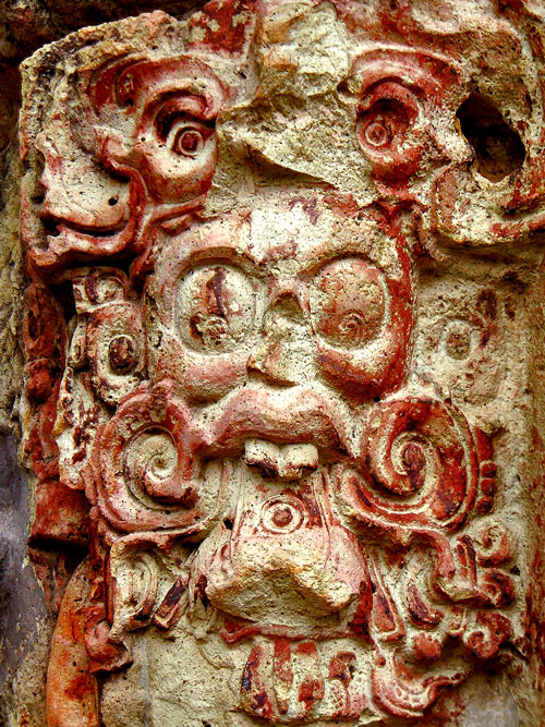 Decoration on Stela C