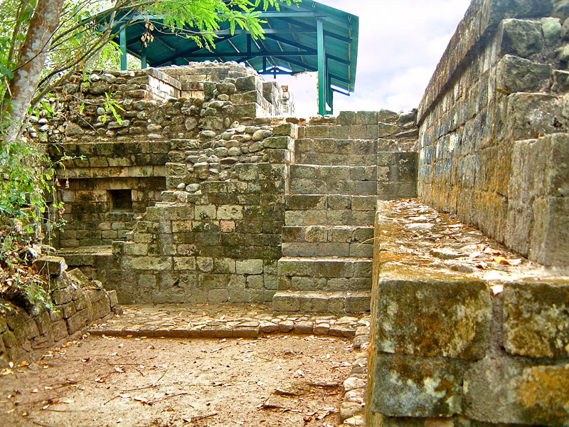 East Side of Structure 82 at Las Sepulturas