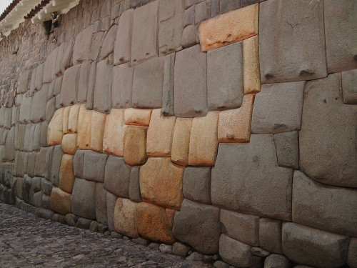 Puma Wall at Cusco