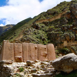 Sun Temple at Ollantaytambo