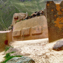 Abandoned Monoliths at Ollantaytambo