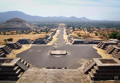 The city of Teotihuacan whose rich trading routes appear to have reignited the Mayan civilisation