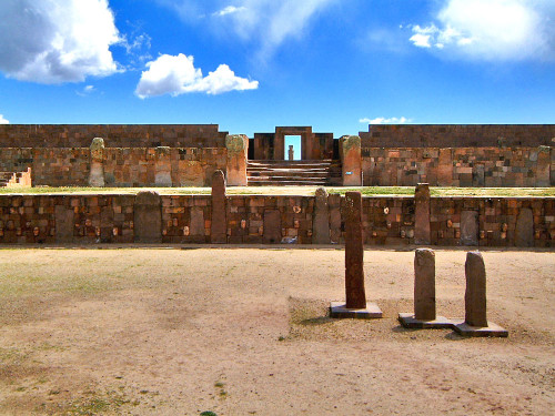 Templete Semisubteraneo at Tiwanaku  - one of the obscure mysteries of the andes