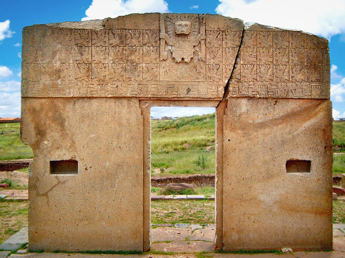 Gate of the Sun at Tiwanaku