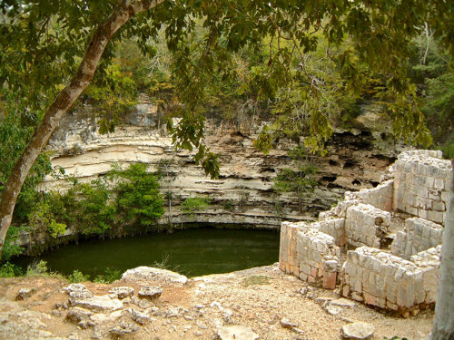 The Sacred Cenote of Chichen Itza