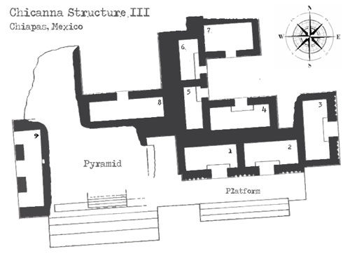 Chicanna Structure III Floor Plan