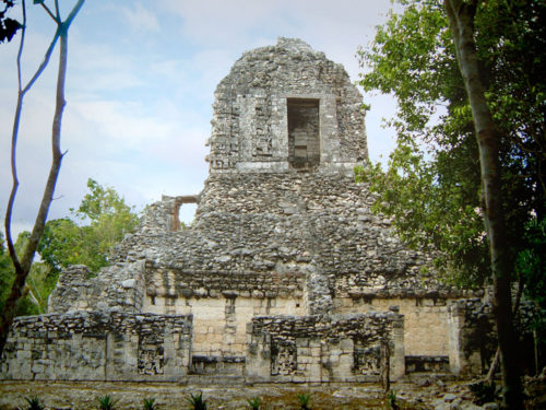 Structure XX, which was built in the late classic history of Chicanna