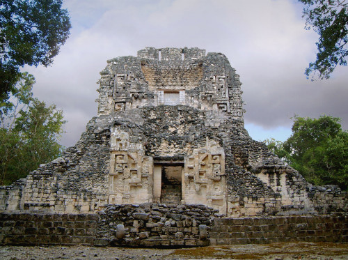 Structure XX which played a significant role in the rituals held at Chicanna