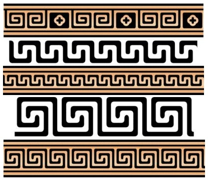 Classic Greek Step-Fret Motifs