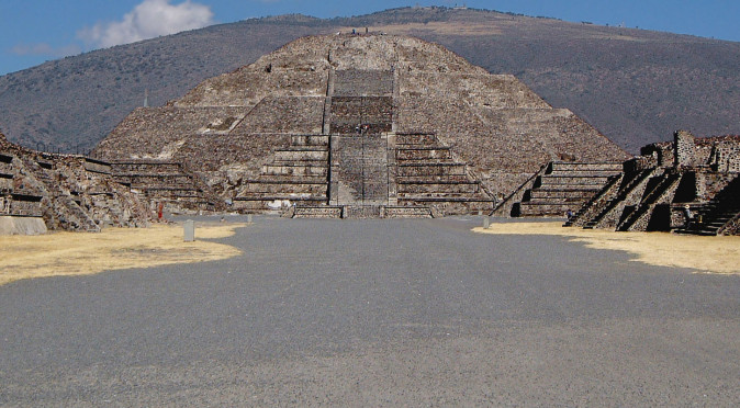 Teotihuacan, one of the greatest ruins of mexico