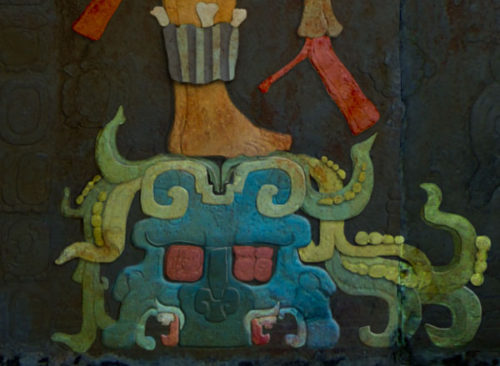 Temple of the Foliated Cross Witz Monster Coloured