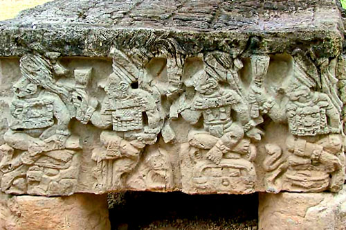 The 2nd Side of Altar Q at Copan