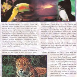 Guatemala Nature Pamphlet - Introduction
