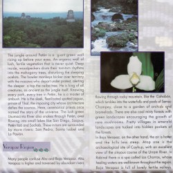 Guatemala Nature pamphlet - Peten