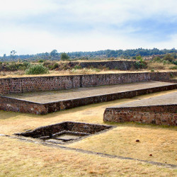 Ball Court at Teotenango