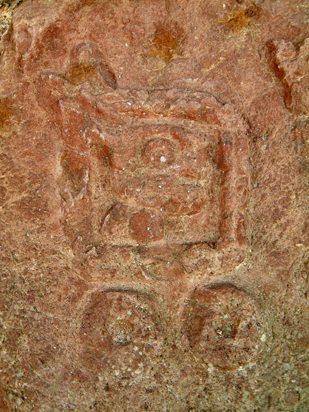 Glyph from Jaguar Carving at Teotenango