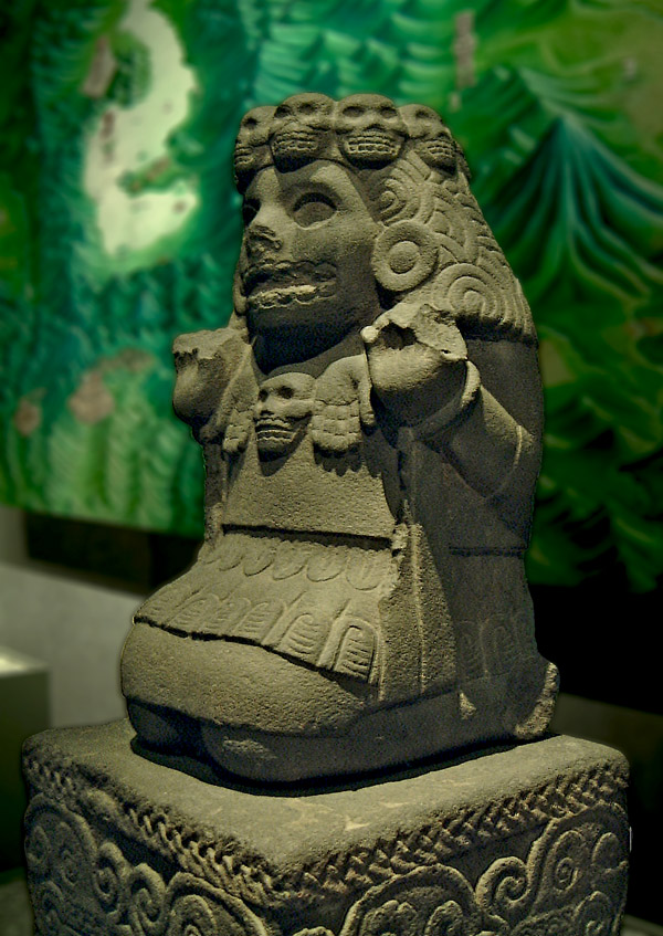 Sculpture of Cihuacoatl