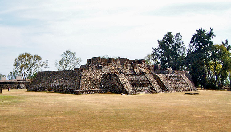 Great Platform (Building 1) at Teopanzolco