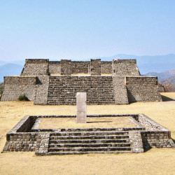 Building D and the Stela of the Two Glyphs at Xochicalco