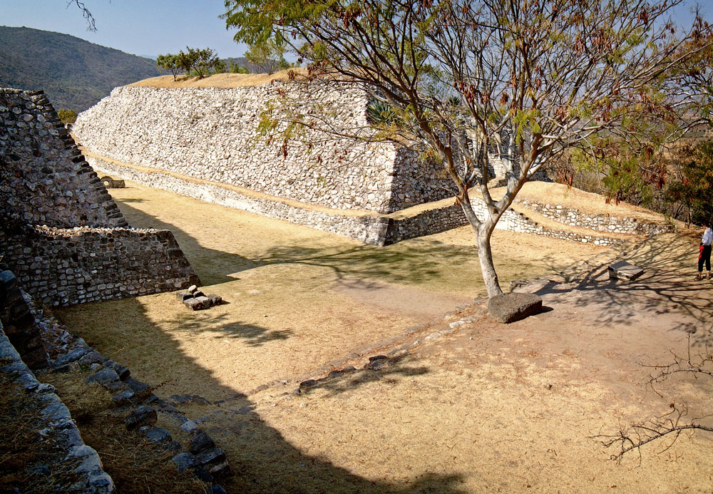 North Teotlachtli (Ball-court) at Xochicalco