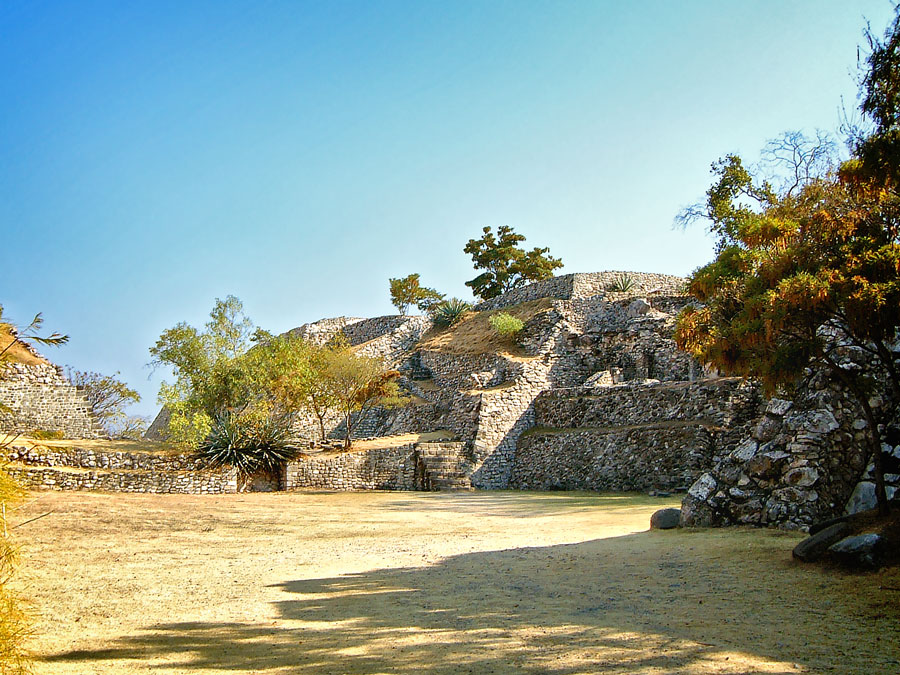 West of North Ballcourt at Xochicalco