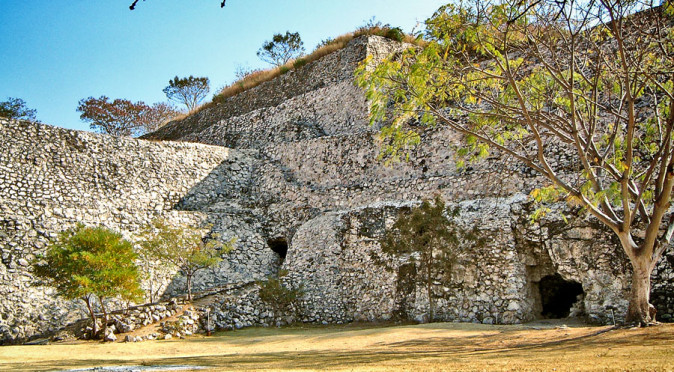 Observatory Entrance at Xochicalco