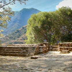 Structure VI at Malinalco