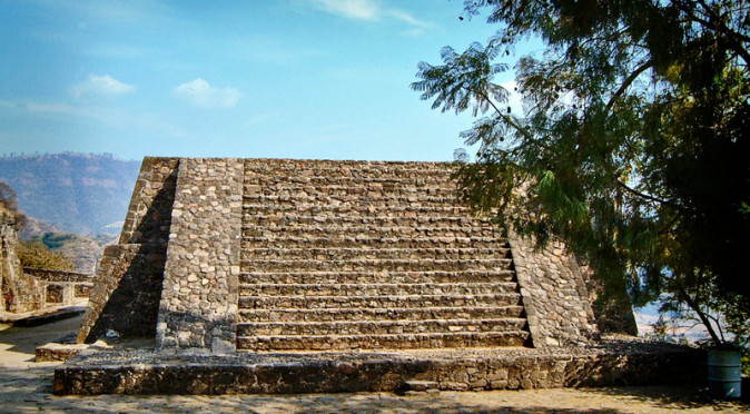 Structure II at Malinalco