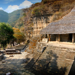 Structure I, VI, VII & VIII at Malinalco