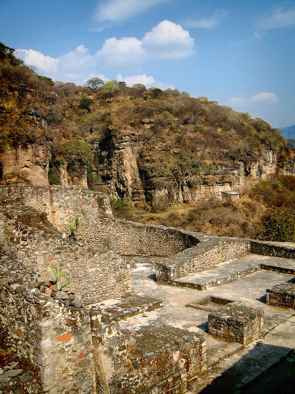 Structure III at Malinalco