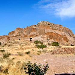 Citadel at La Quemada